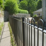 Hooped Railings (Litton Mill)