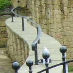 Shaped Handrail (Hathersage) [detail]