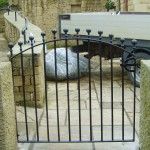 Gate and Shaped Handrail (Hathersage)